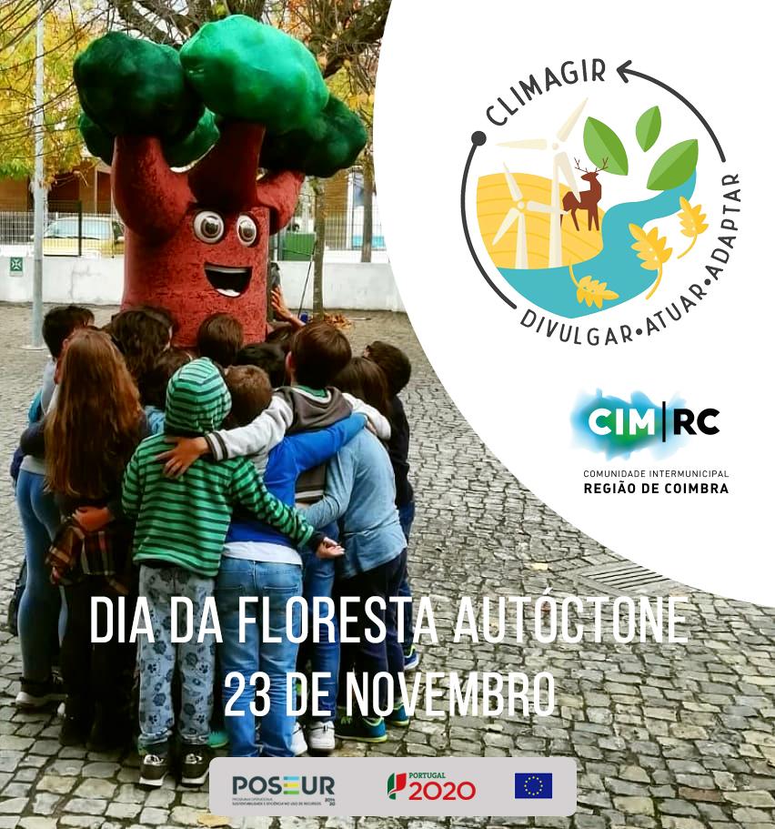 Dia da Floresta Autóctone pelo CliAgir da CIM Região de Coimbra