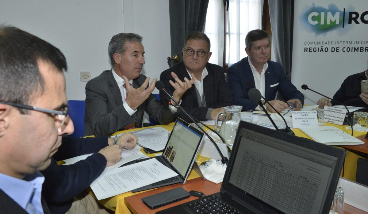 O Secretário de Estado para a Valorização do Interior participou no CI, a 10 de janeiro, na Pampilhosa da Serra